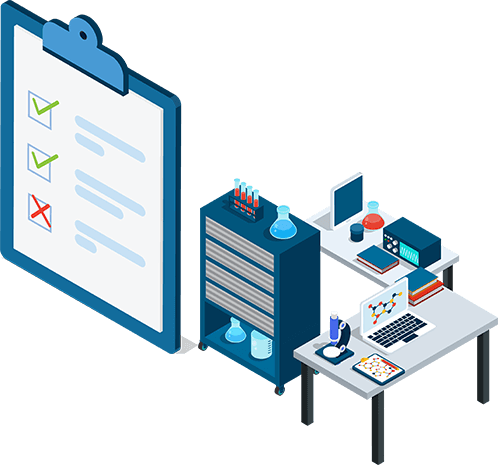 An illustration of an FDA Audit Support company