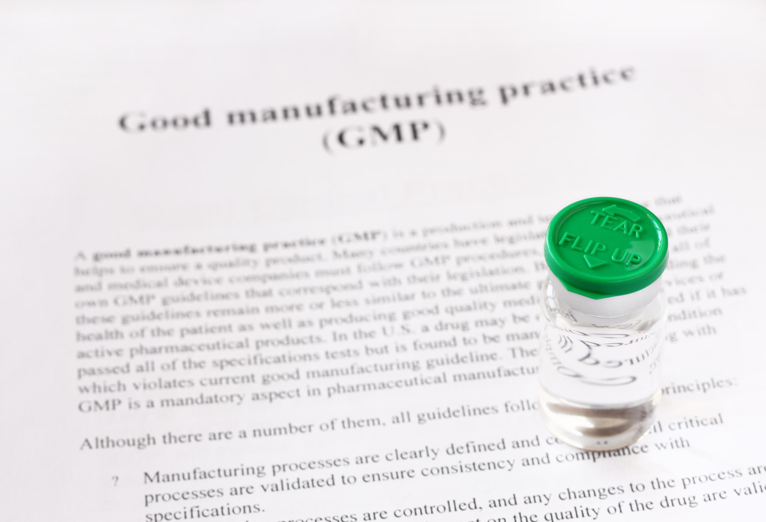 GMP pharma quality